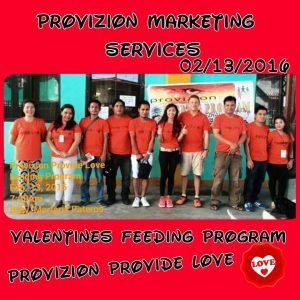 provizion feeding program